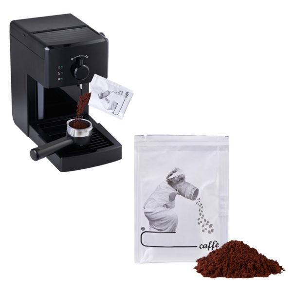 Bustine di caffè sottovuoto personalizzabili